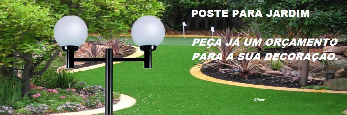 poste para jardim