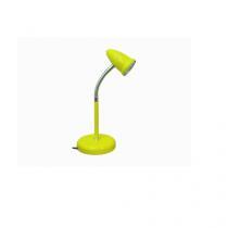 Luminaria de mesa led cone amarelo