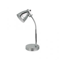 Luminaria de mesa em metal