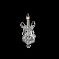 Arandela Cristal claro  01 Lâmpada