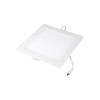 Painel de embutir led quadrado 18W 3000K branco quente
