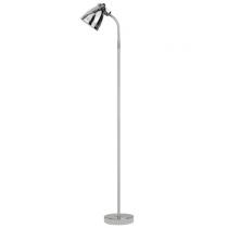 Luminaria de piso em metal