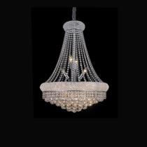 Lustre em Cristal Claro 17 lampadas
