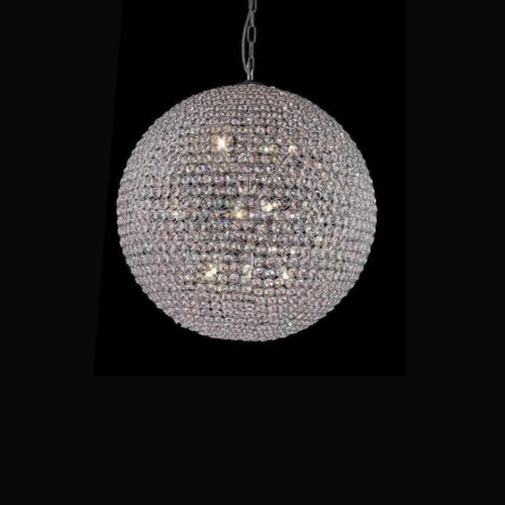 Pendente cristal bola 100cm for Bolas de cristal decorativas