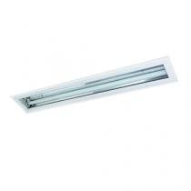 Luminária Específica de embutir com vidro temperado