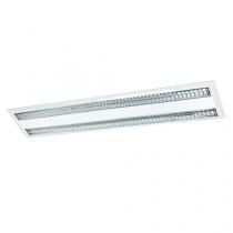 Luminária Embutir com refletor alumínio aletadas