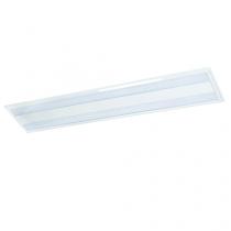 Luminária Embutir com difusor em acrílico e refil em alumínio alto brilho