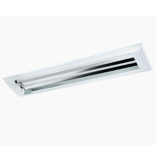 Luminária Embutir com cobre e soquete refletor alumínio de alto brilho