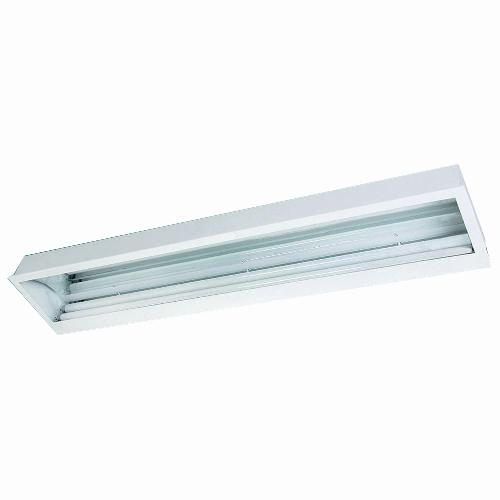 Luminária Embutir assimétrica com refletor em alumínio alto brilho
