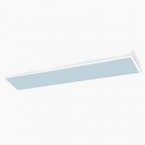 Luminária Sobrepor com acrílico translúcido